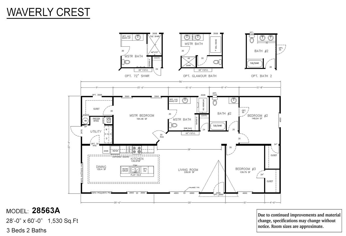 LH Waverly Crest 28563A Layout