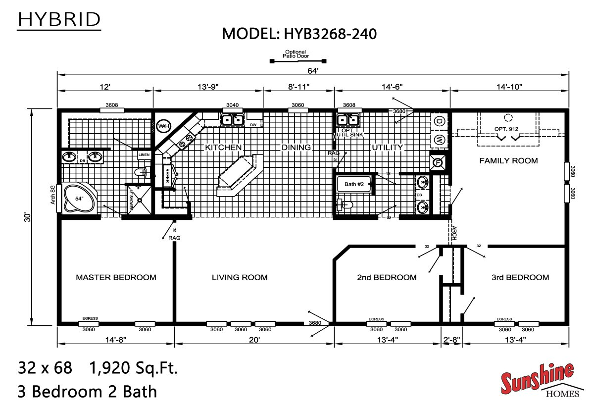 Hybrid HYB3268-240