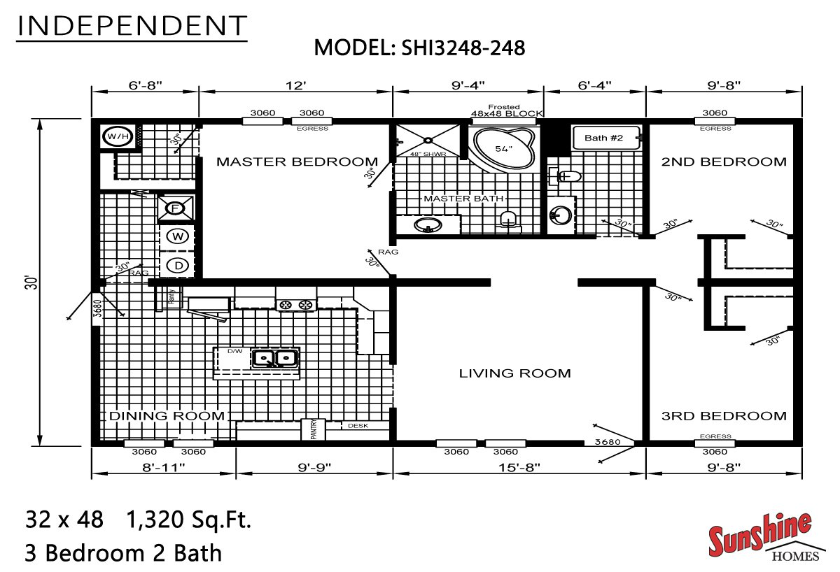 Brothers 3 manufactured homes in cedar rapids ia for Iowa home builders floor plans