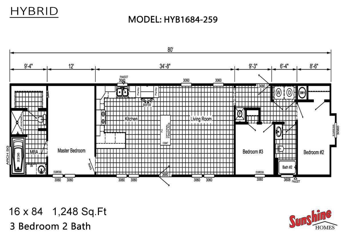 Hybrid HYB1684-259