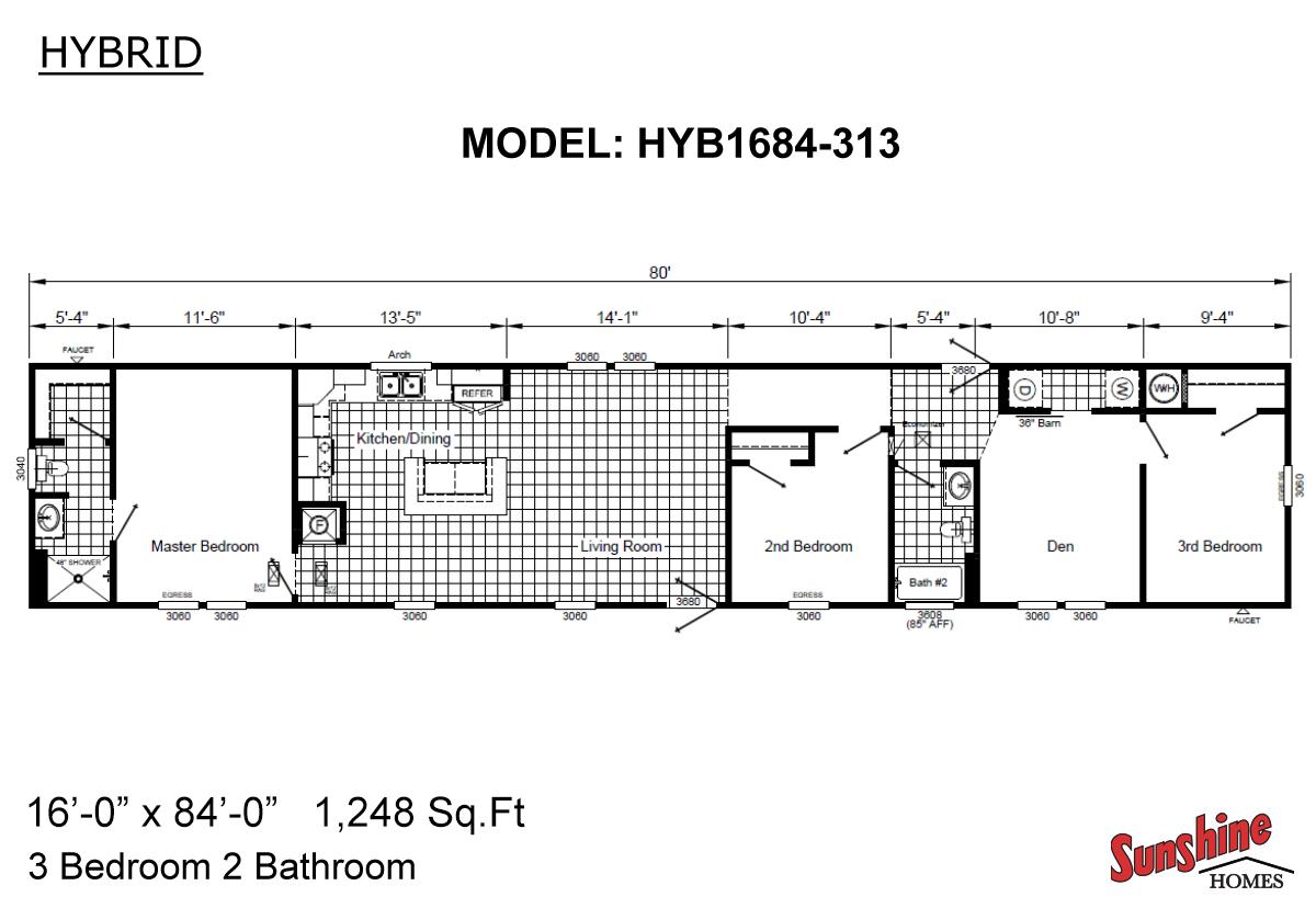 Hybrid HYB1684-313