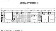 Hybrid HYB1684-313 Layout