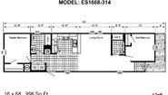 Excel ES1668-314 (NOW 1668-1005) Layout