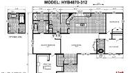Hybrid HYB4870-312 Layout