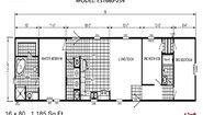 Excel ES1680-254 Layout