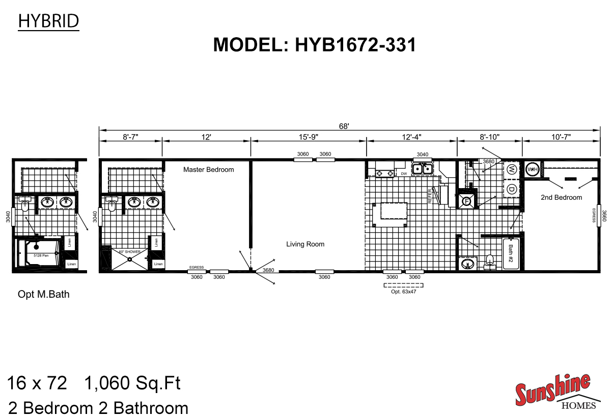 El dorado homes in el dorado ar manufactured home dealer for 16 x 48 house plans