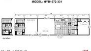 Hybrid HYB1672-331 Layout