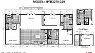 Hybrid HYB3270-329 Tunica Layout