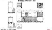 Hybrid HYB3284-349 Layout
