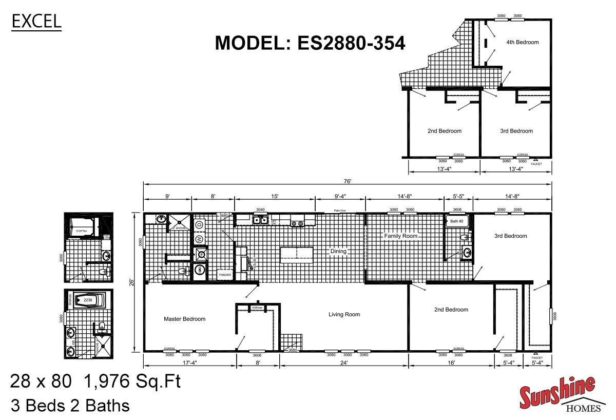 Excel The Mallard ES2880-354