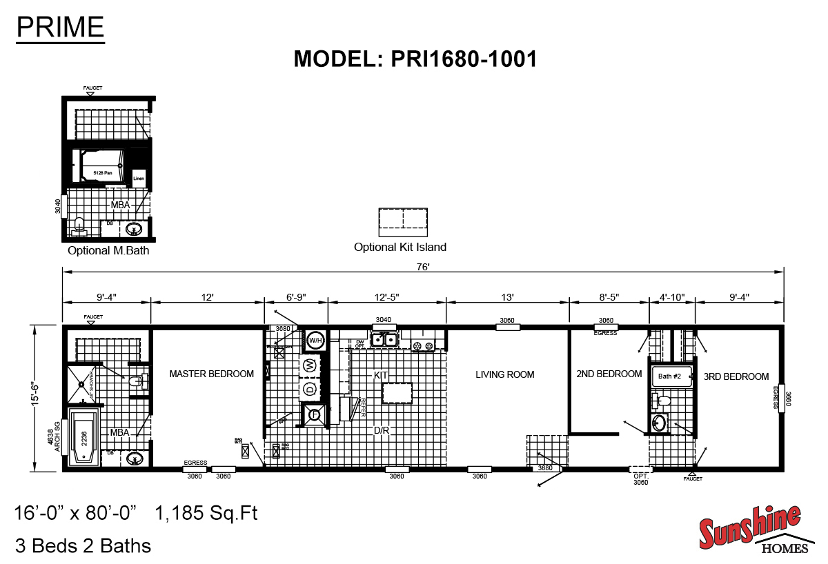 Prime - PRI1680-1001