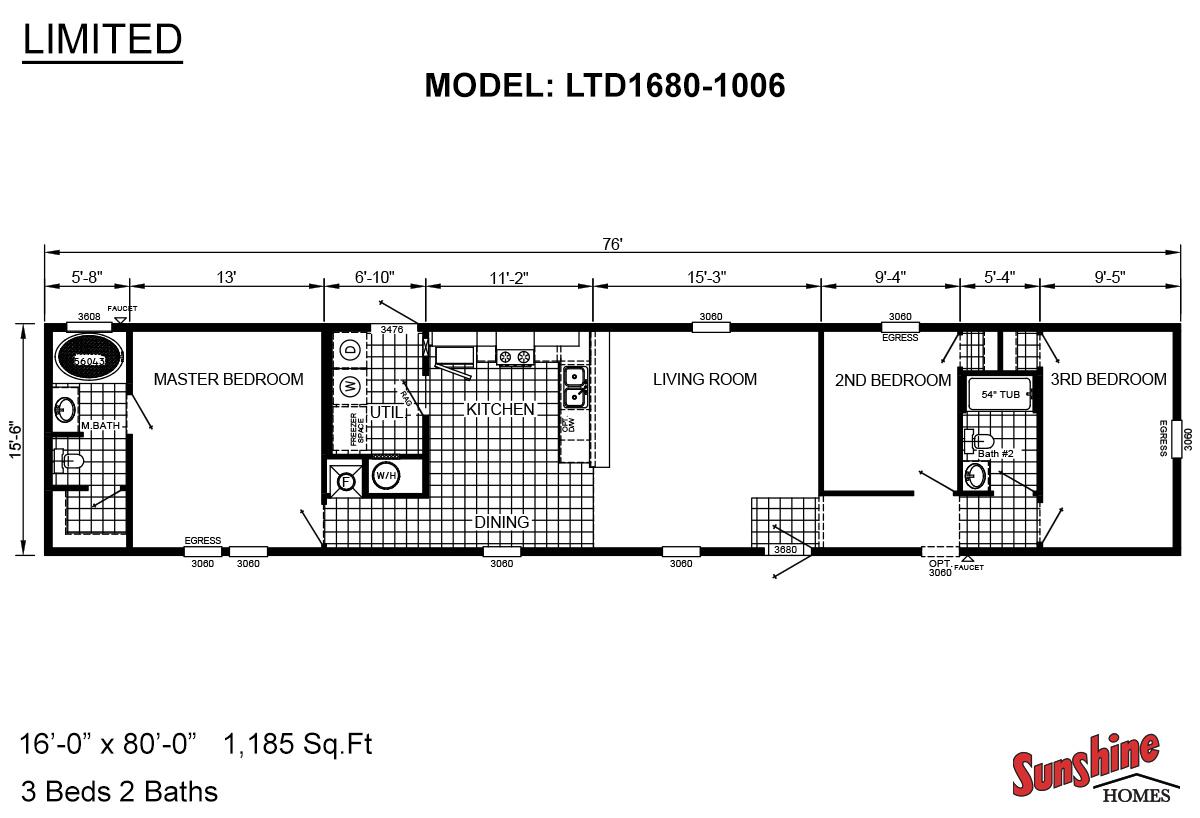 Limited LTD1680-1006 Layout