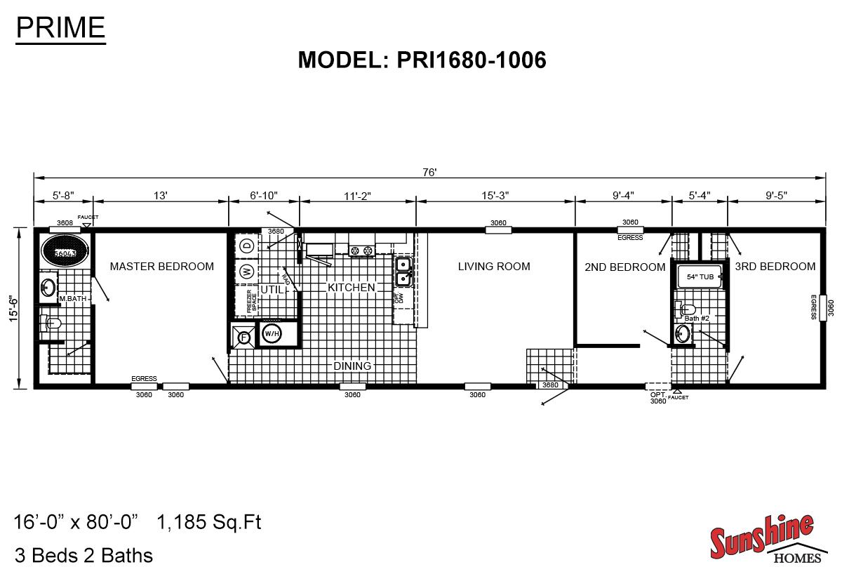 Prime PRI1680-1006 Layout