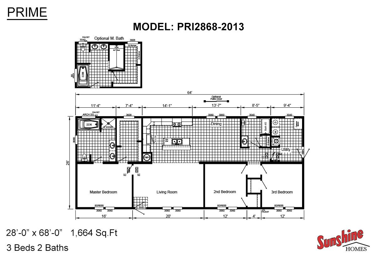 Prime PRI2868-2013 Layout
