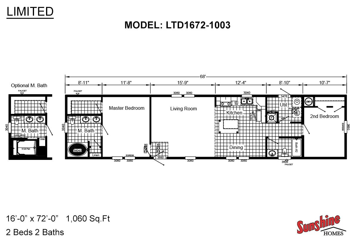 Limited LTD1672-1003