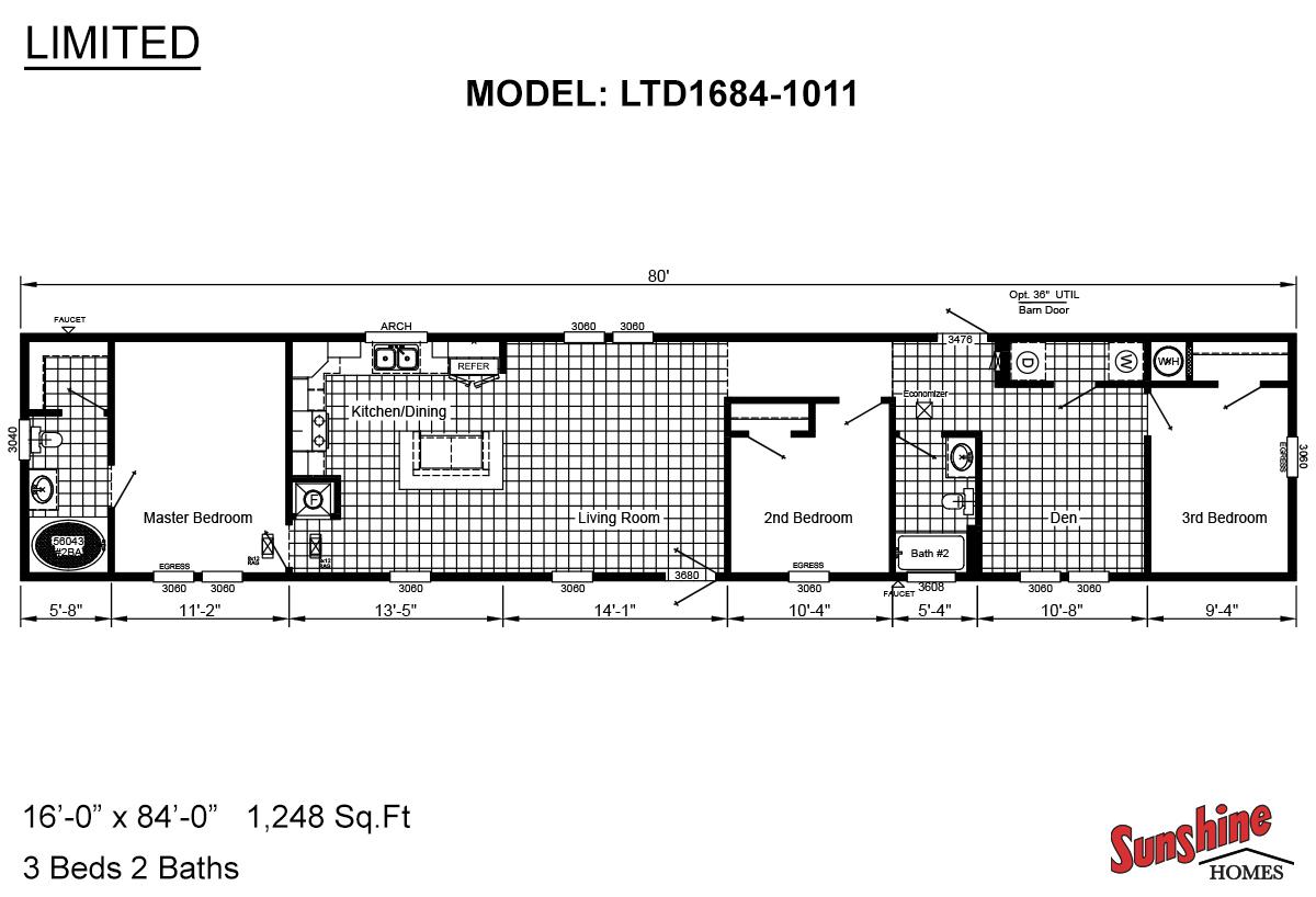 Limited LTD1684-1011 Layout