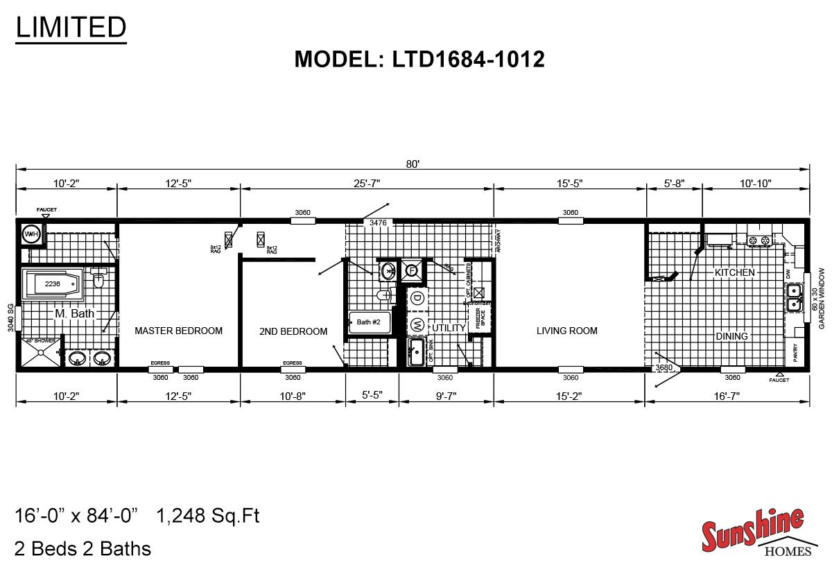 Limited LTD1684-1012 Layout