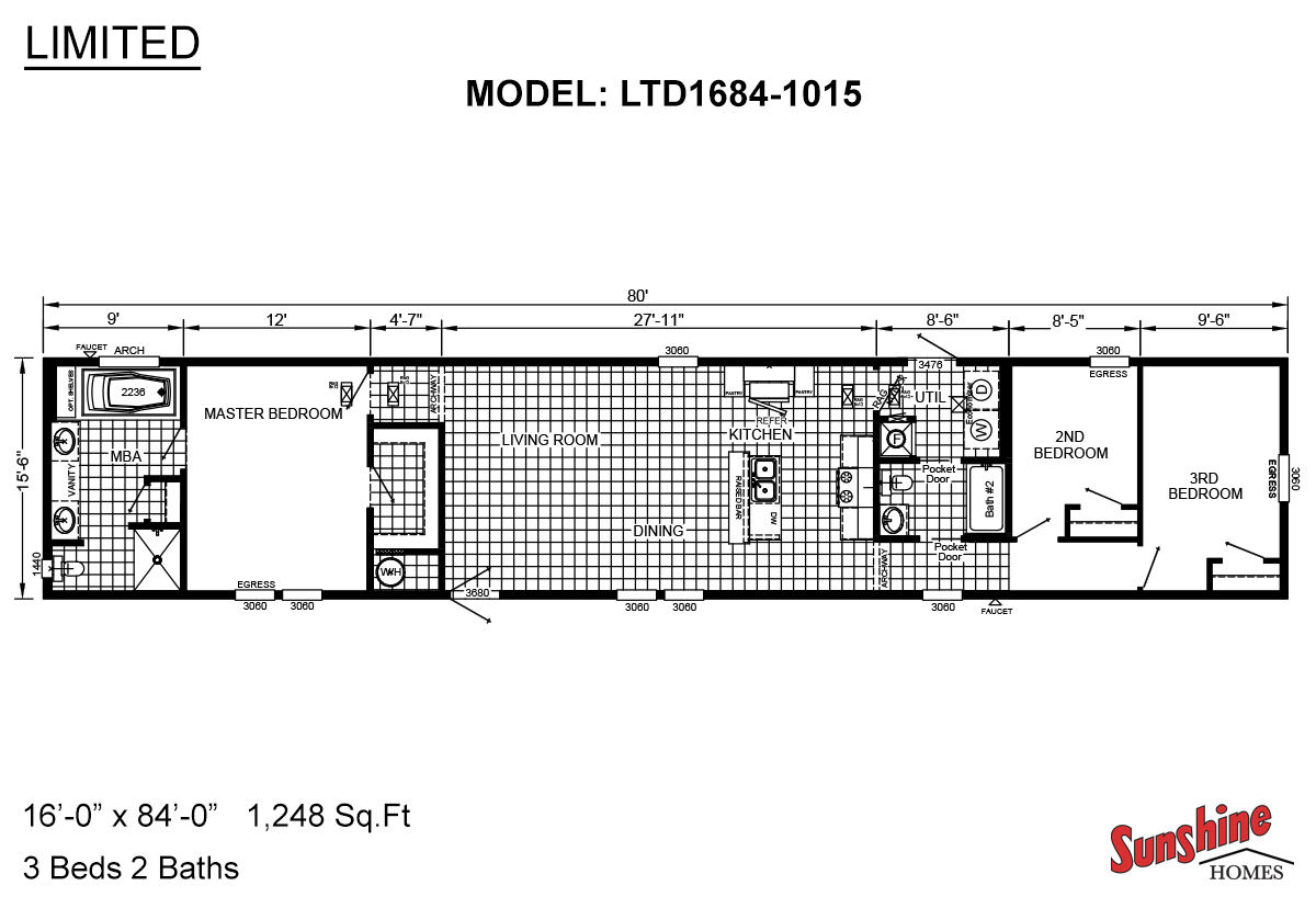 Limited LTD1684-1015 Layout