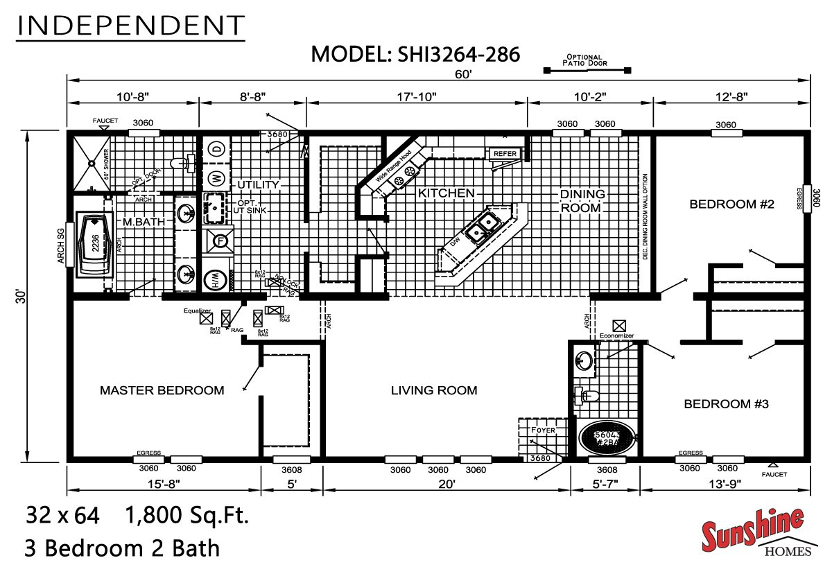 Independent SHI3264-286 Layout