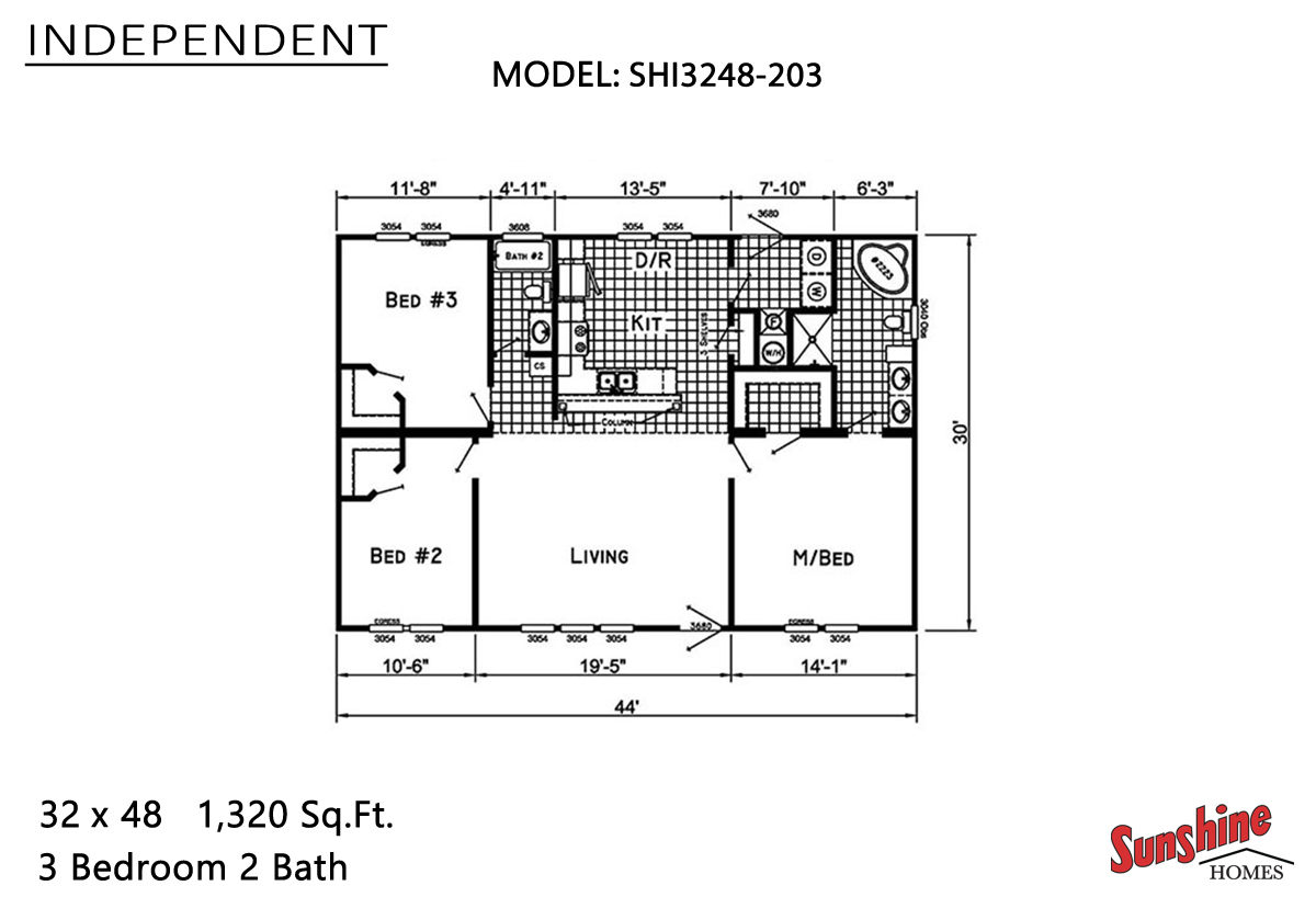 Independent SHI3248-203