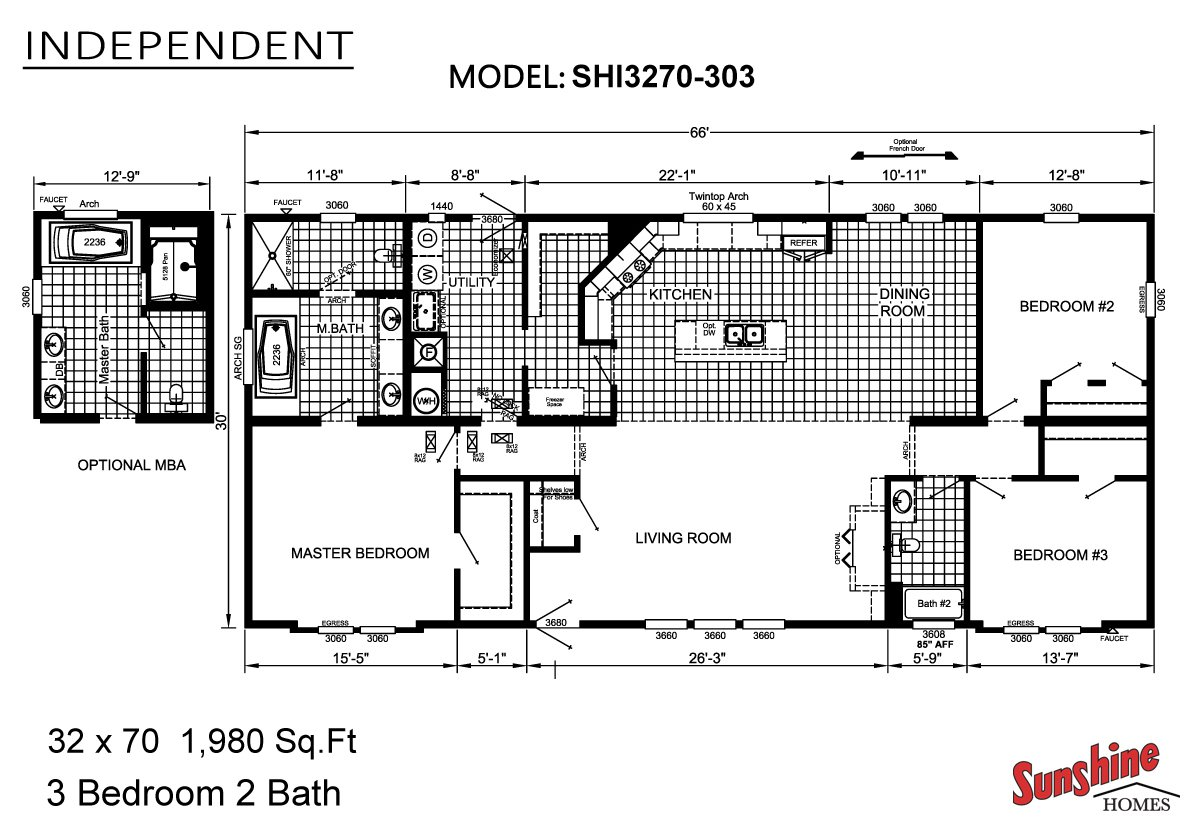 Independent SHI3270-303 Layout