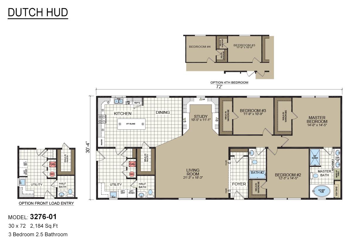 Dutch Hud 3276 01 By Dutch Housing Davis Homes