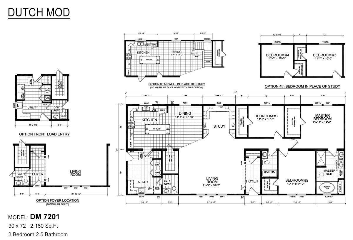 Dutch MOD DM 7201 Layout
