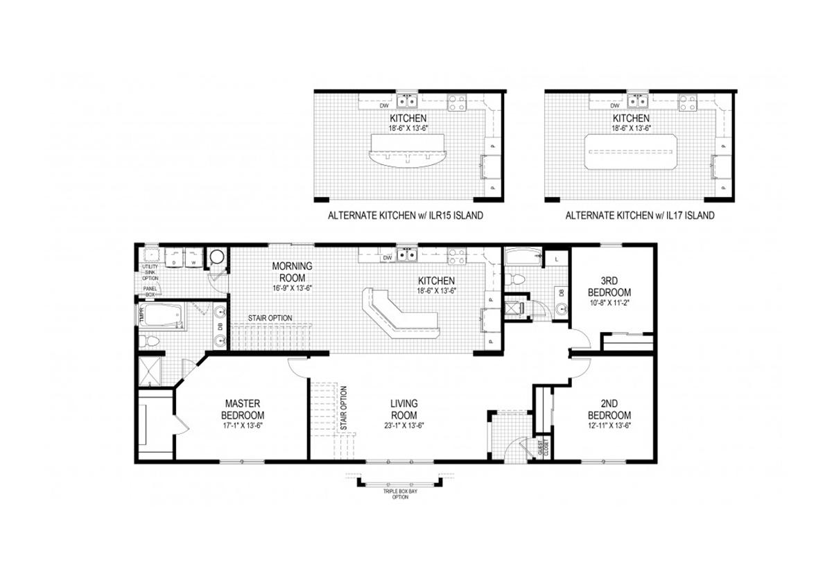 D h homes in garden city ks manufactured home dealer for Floor plans kansas city