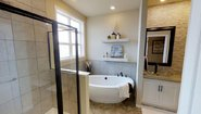 BellaVista Red Oak Bathroom