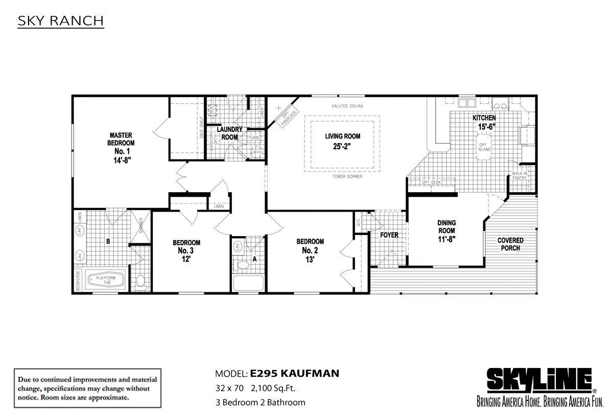 Sky Ranch E295 Kaufman Layout