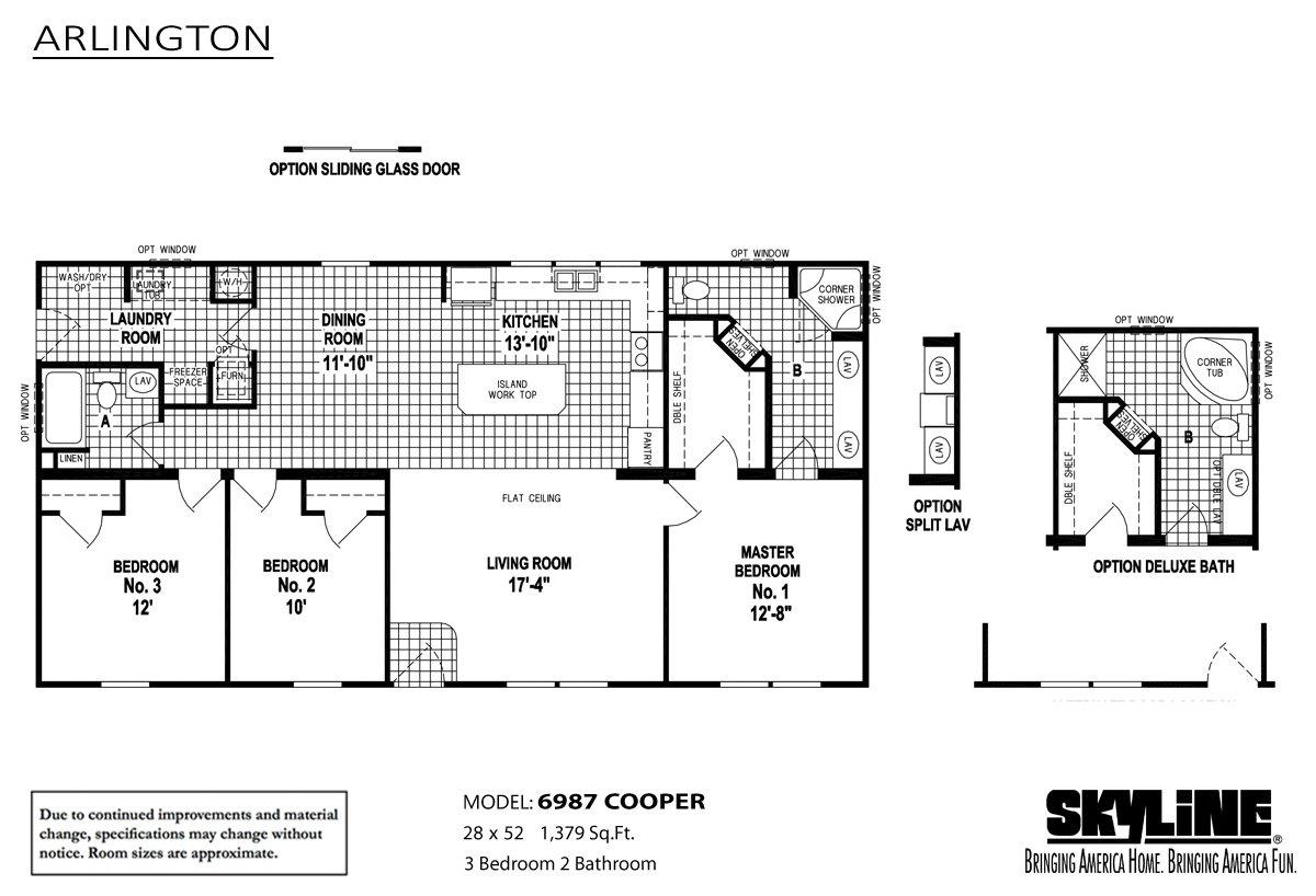 arlington 6987 cooper by skyline homes
