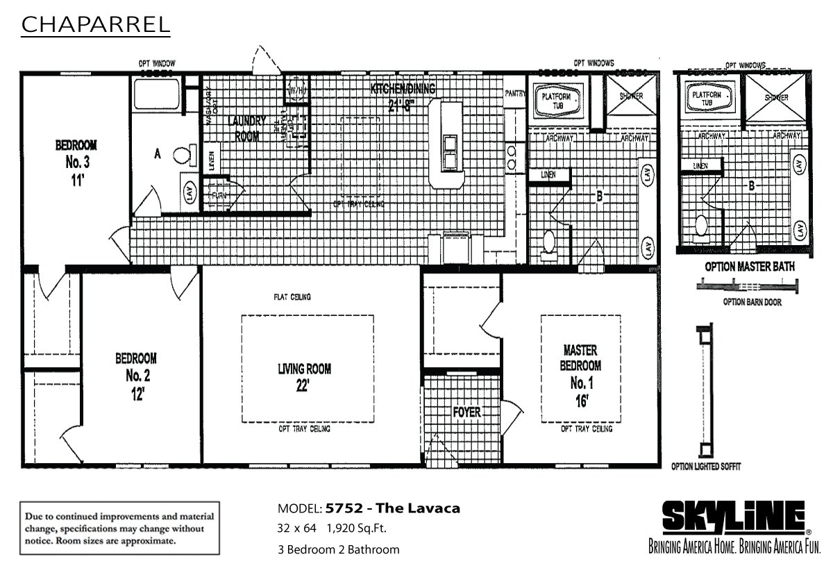 chaparrel 5752 the lavaca by skyline homes