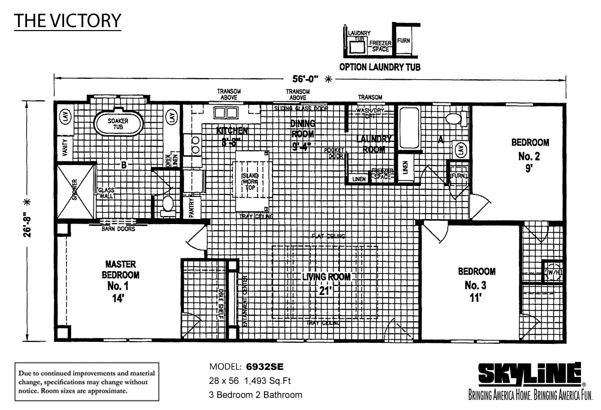 The Victory / 6932SE by Skyline Homes
