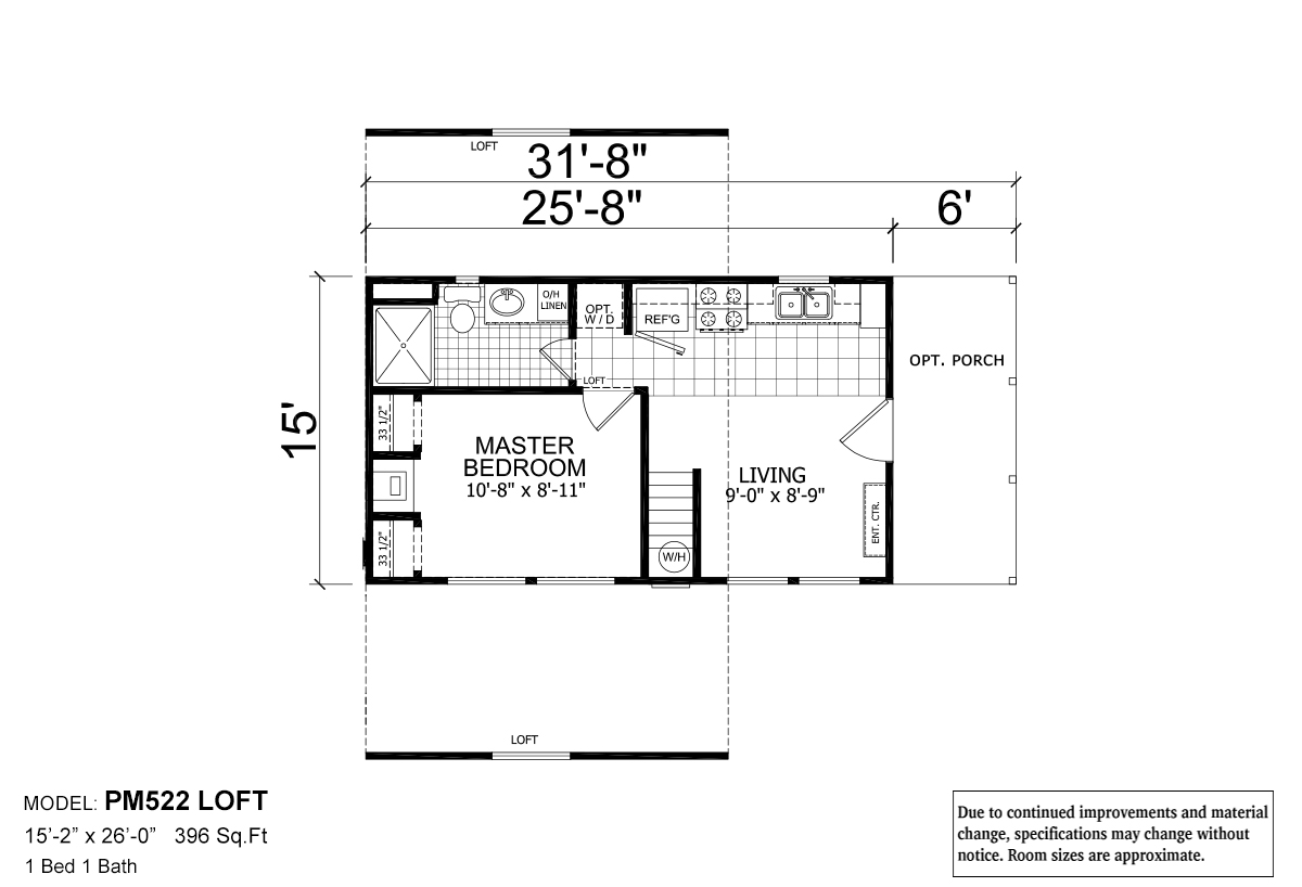 Central Great Plains 522 Loft By Champion Home Builders