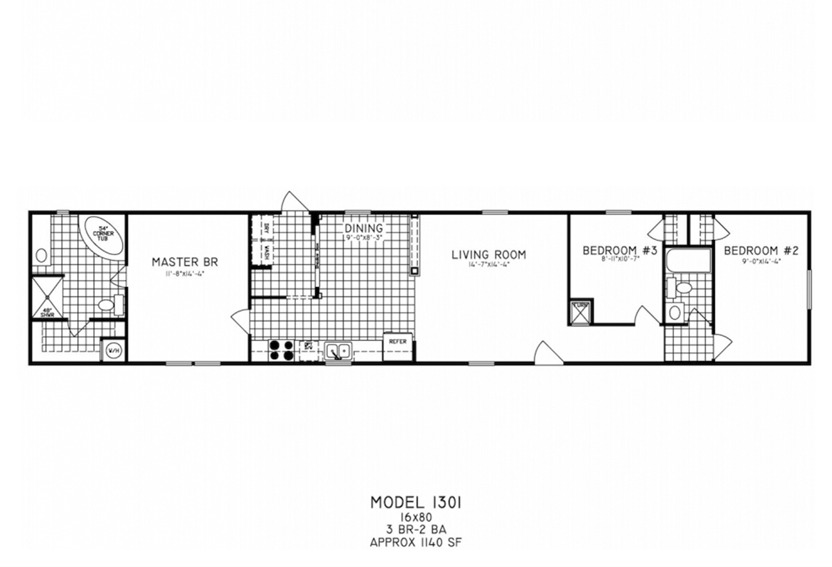 Ultimate ut1301 by cappaert manufactured housing for Ultimate floor plans