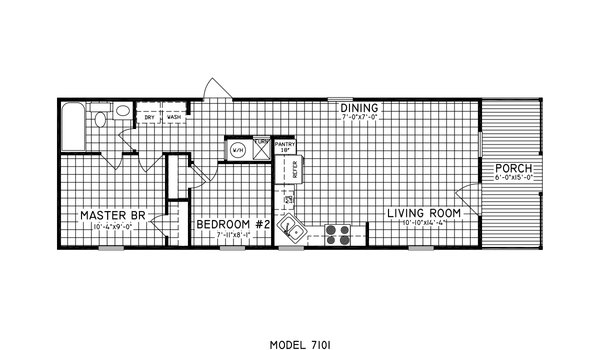 Cottage / 7101 - Layout