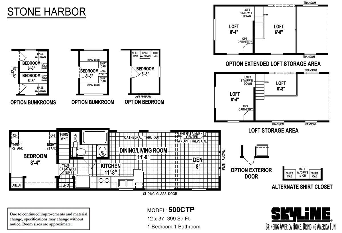 Stone Harbor 500CTP-FE