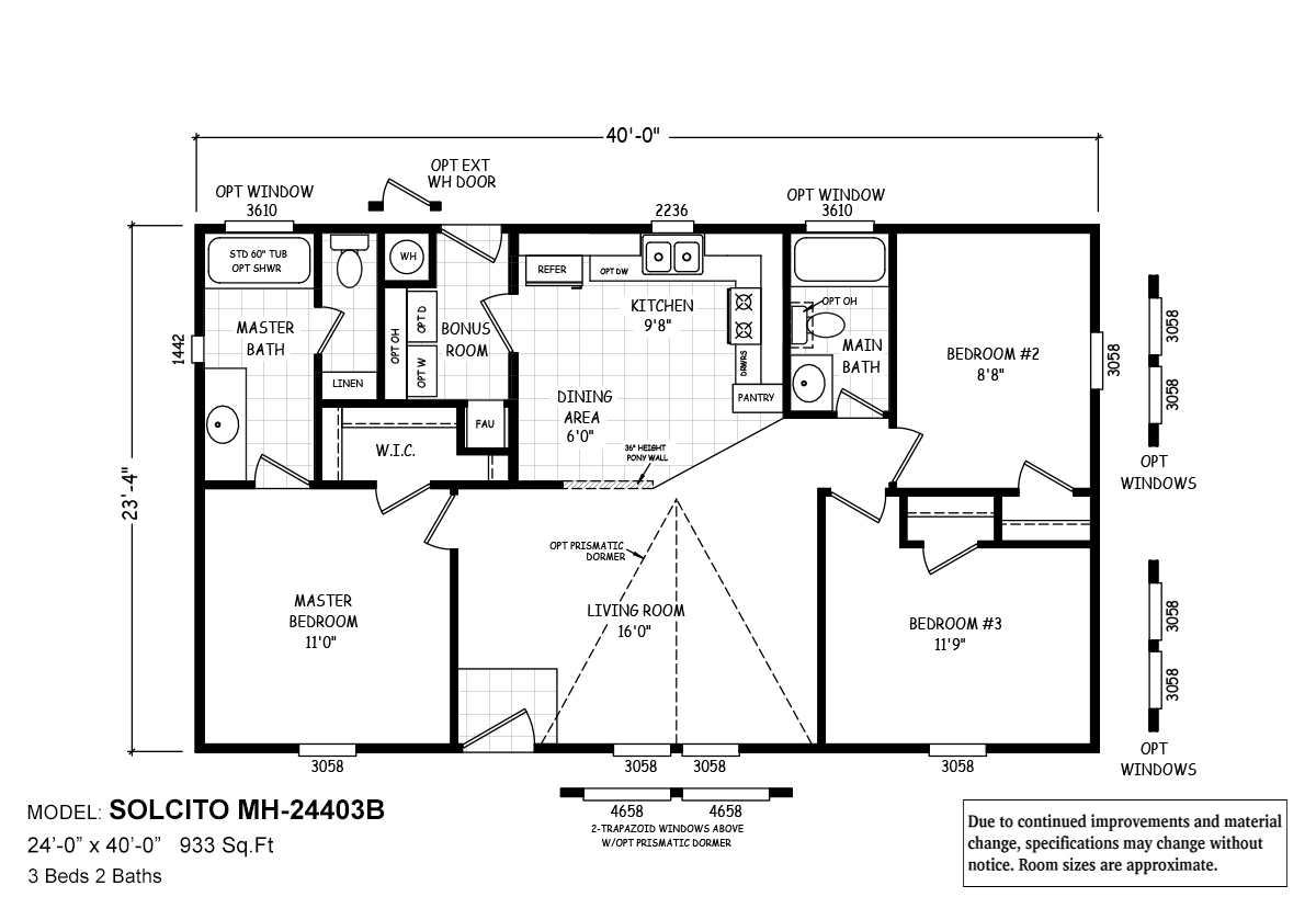 MH Series Solcito Layout
