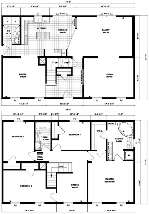 Two-Story Stratford Layout