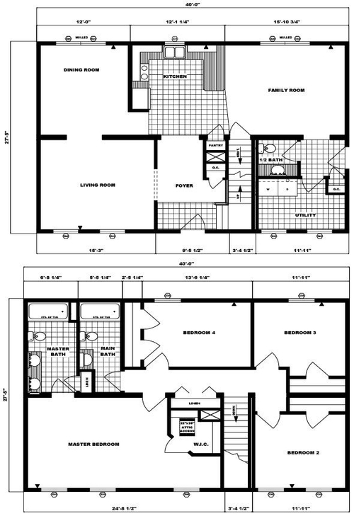 Two-Story Bay Tree Layout