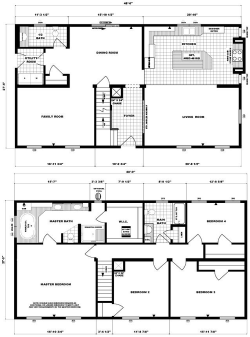 Two-Story Westover Layout