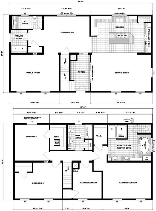 Two-Story Hanover Layout