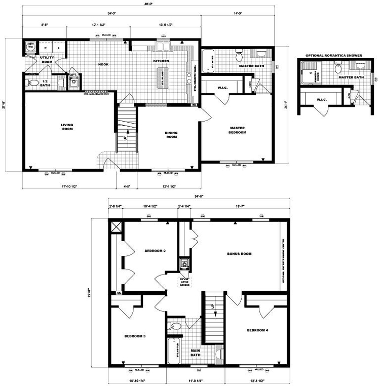 Two-Story Laura Lee Layout