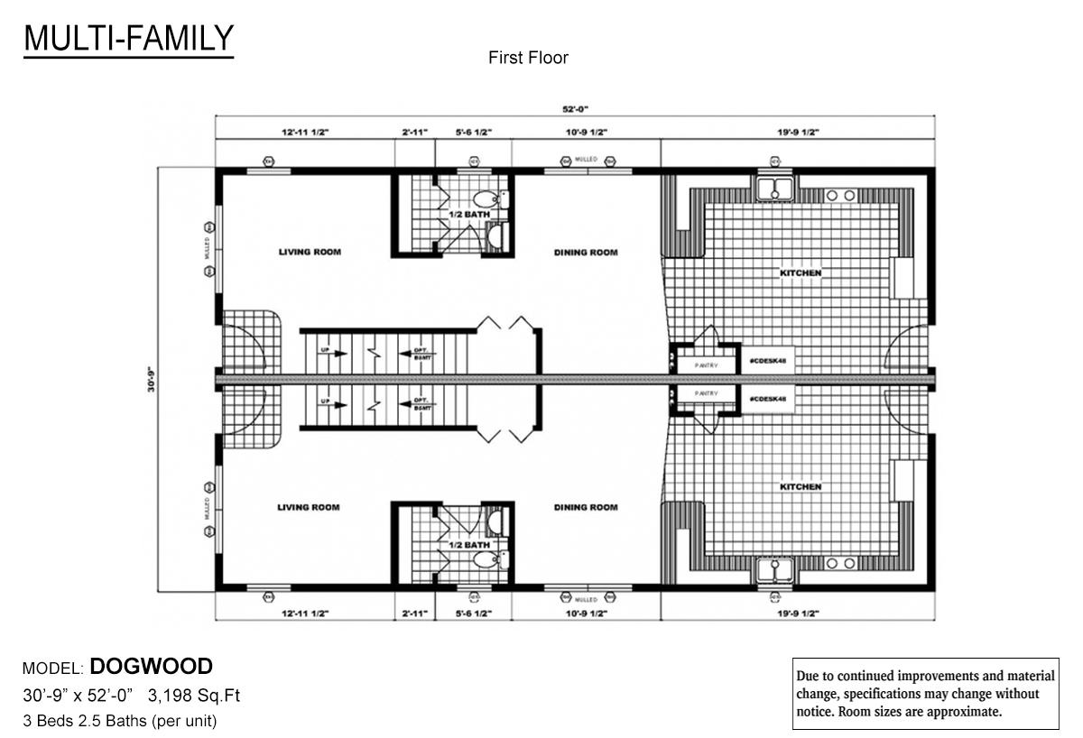 Multi-Family - The Dogwood