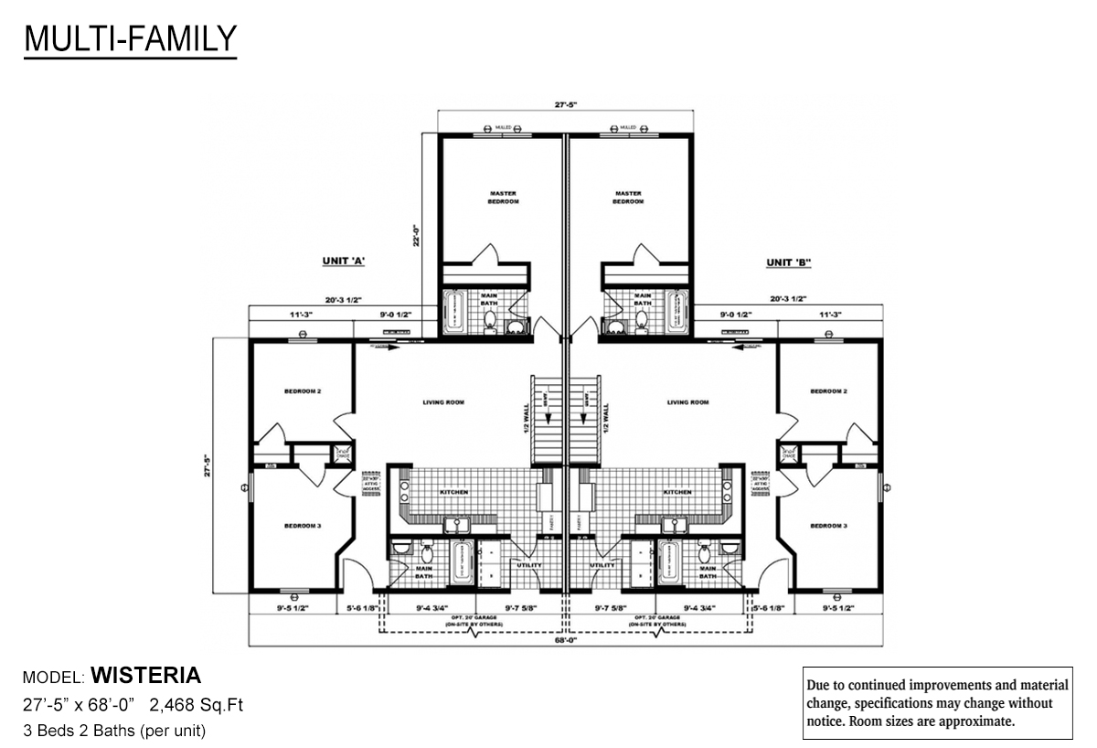 Multi-Family The Wisteria Layout