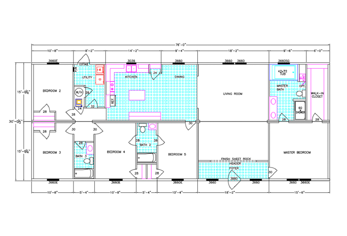 Franklin Series Hawthorn Layout