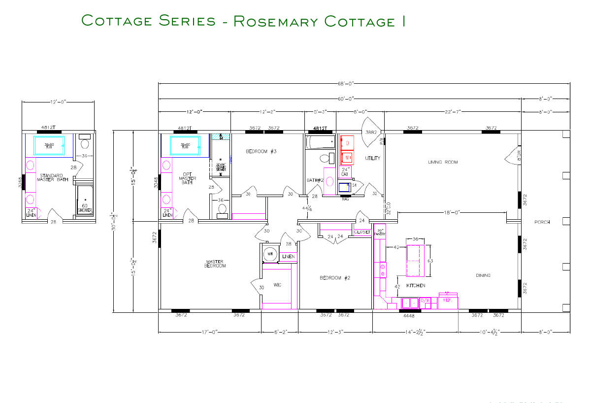 Cottage Series Rosemary I