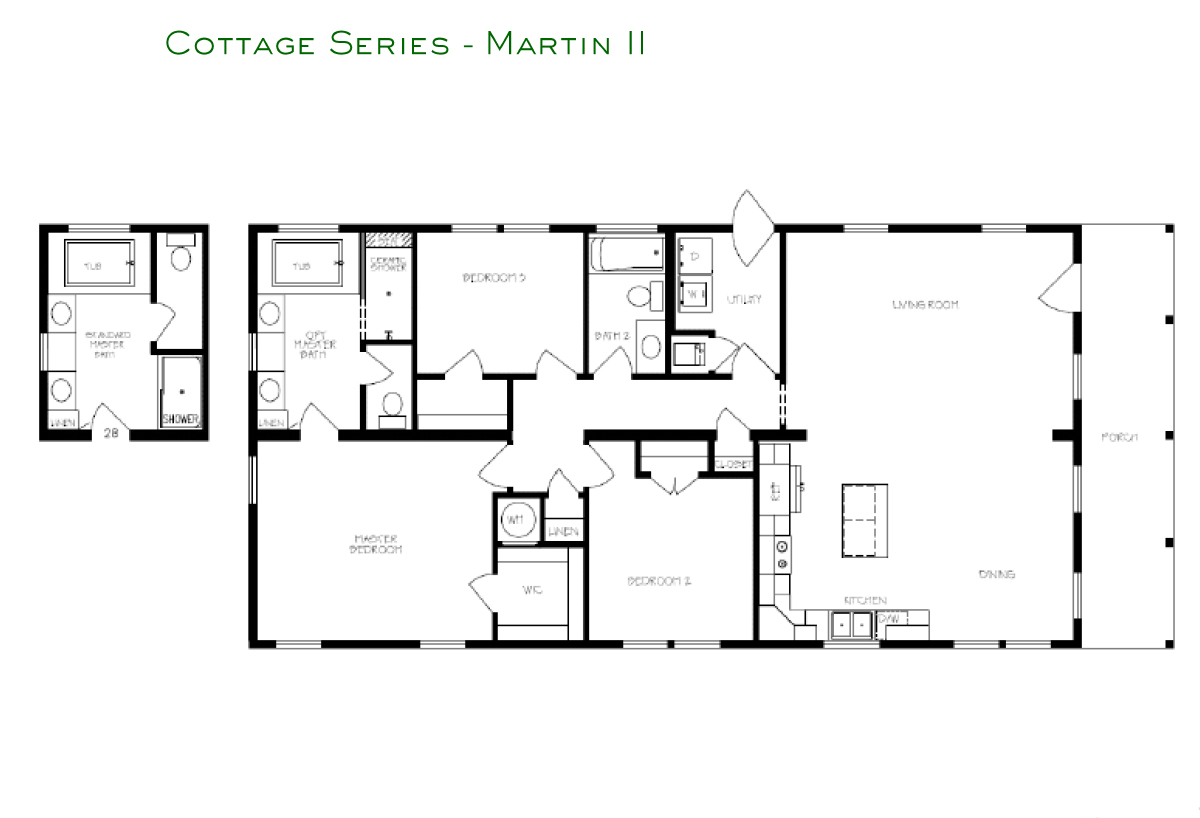 Cottage Series Martin II Layout