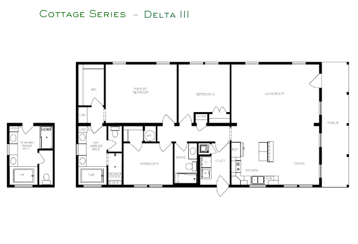 Cottage Series Delta III