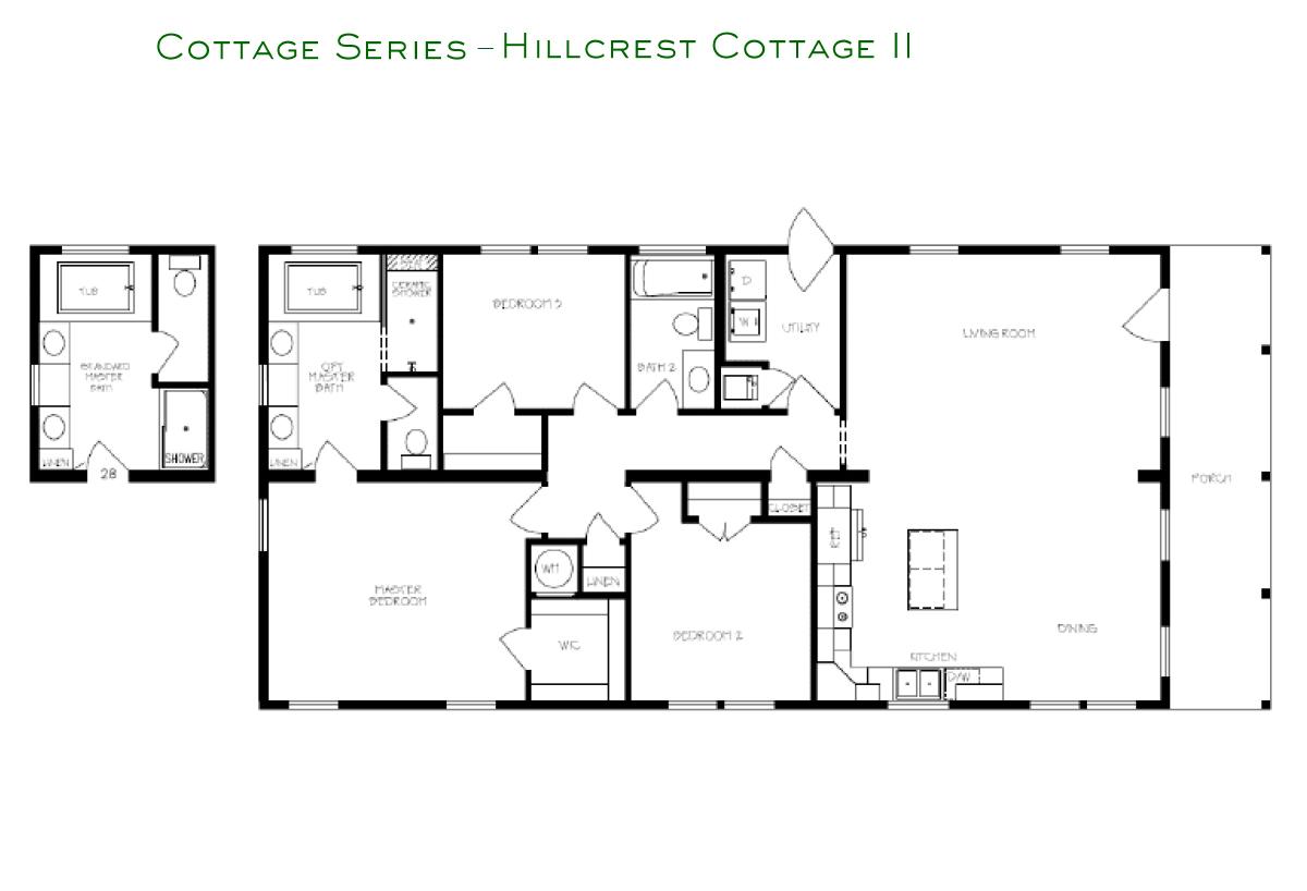 Cottage Series Hillcrest II Layout
